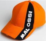 Čepice Malossi (scooter - skútr) - oranžová