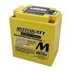 Baterie MOTOBATT MB10U ( 12V 14,5AH ) - komp. YB10L-A2, YB10A-A2, YB10L-B2