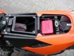 Skútr - moto - ATV kanistr 0,5L červený