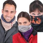 Tucano Urbano Face_TU_Face Winter, univerzální rolák na skútr Krémově-modrý