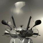 """Plexi štít Biondi """"Club"""" na skútr Honda SH 125/150 (2013) - 8061258"""
