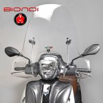 """Plexi štít Biondi """"Club"""" na skútr PIAGGIO MEDLEY 125/150-2016 - 8061267"""