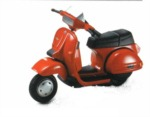Model skútru Vespa T5 POLE POZITION (85´) 1:32