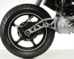 Polini Torsen WD přídavná kyvná vidlice na skútr Yamaha Aerox, Aprilia SR ( Minarelli horizontal)